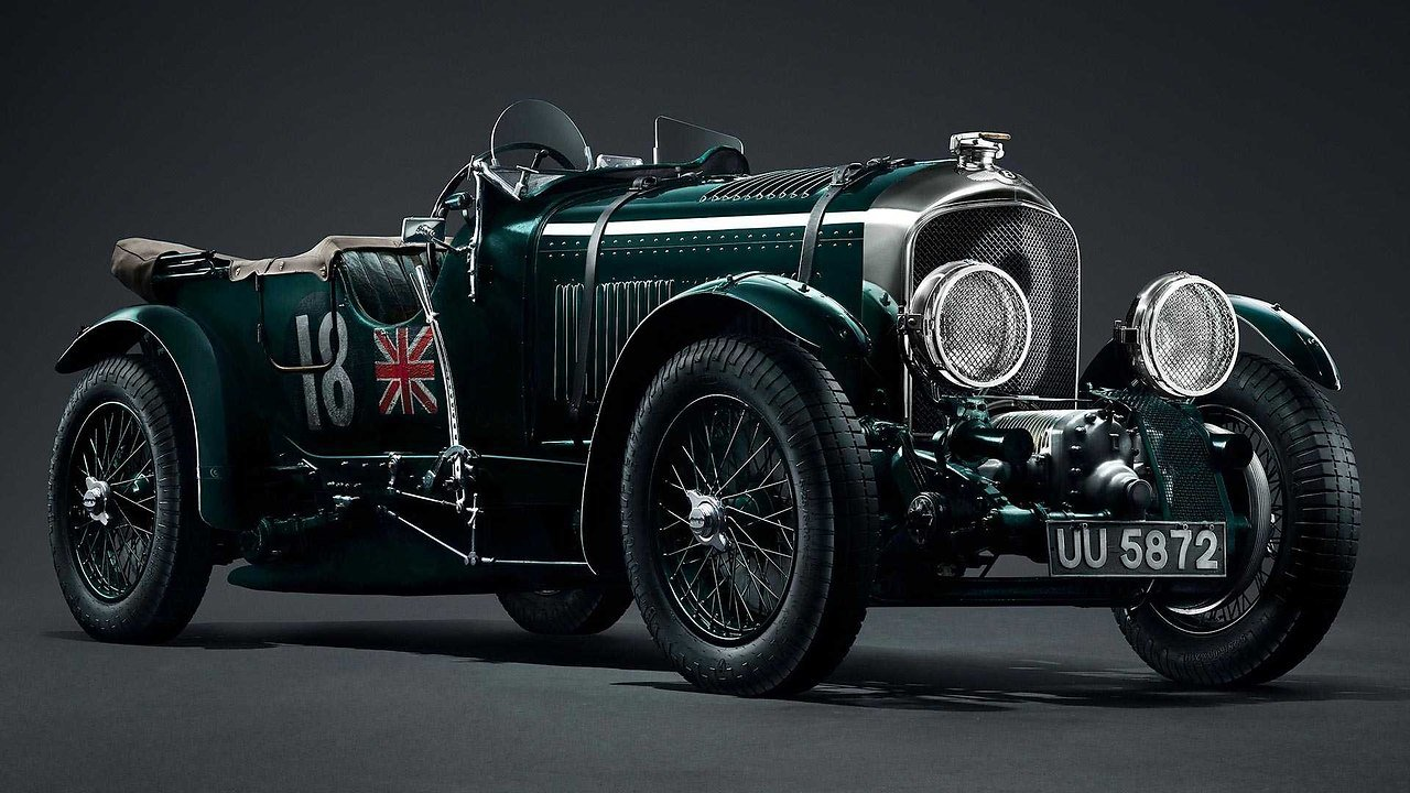 Bentley digitized a 90-year-old car to build copies of it