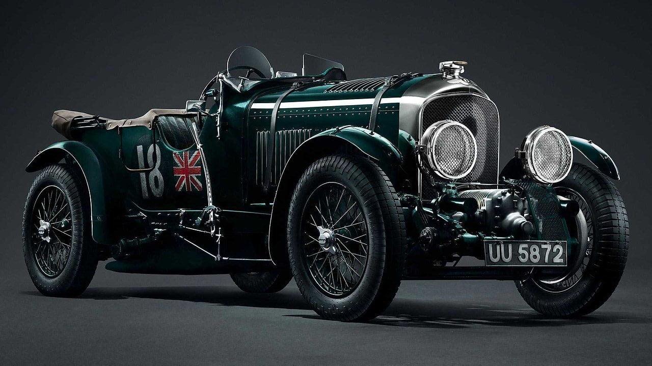 Bentley digitalisierte ein 90 Jahre altes Auto, um Kopien davon zu bauen