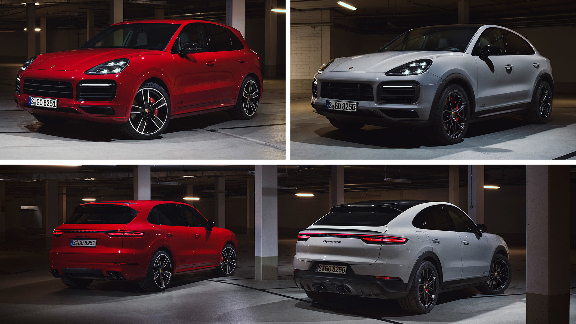 """Especially sporty"" versions of the Porsche Cayenne and Cayenne Coupe began to be sold in the Russian Federation"