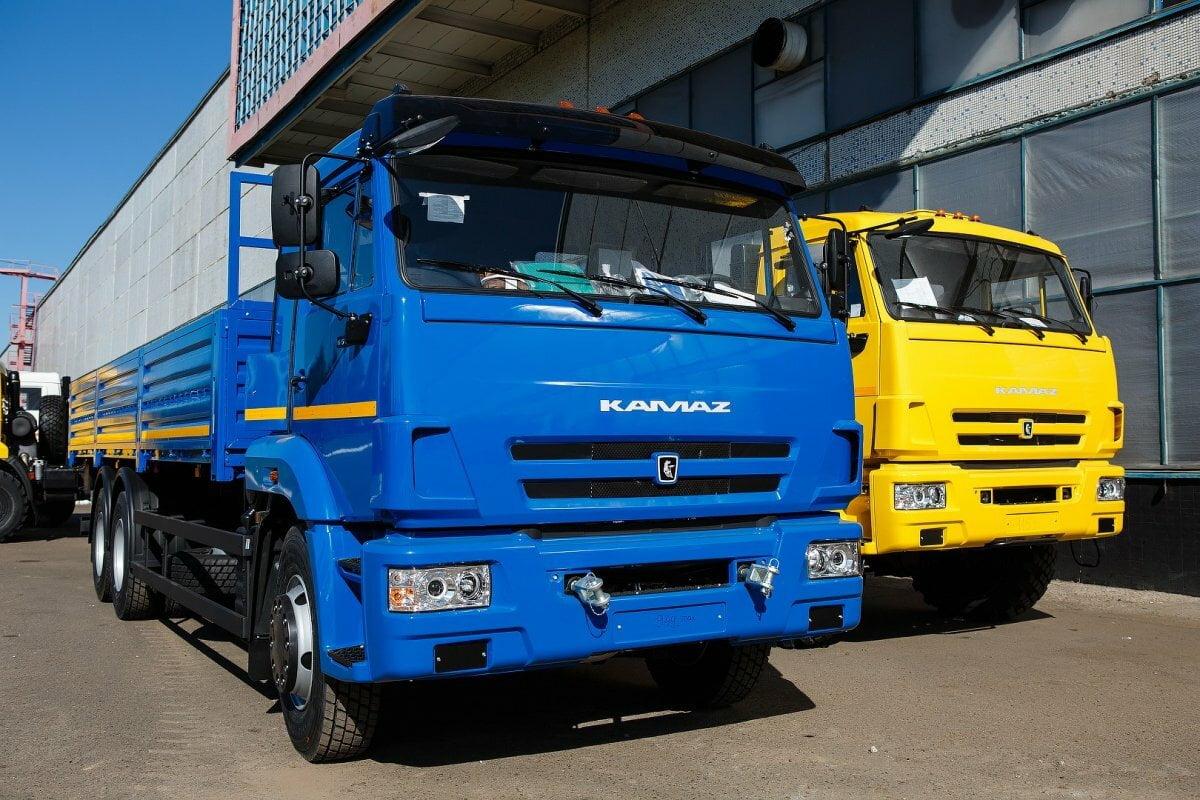 KAMAZ stellte seinen ersten Elektro-Lkw vor