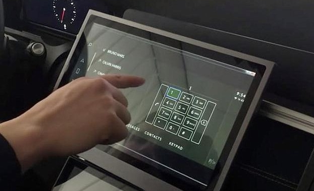 Jaguar Land Rover comes up with a non-contact touch screen