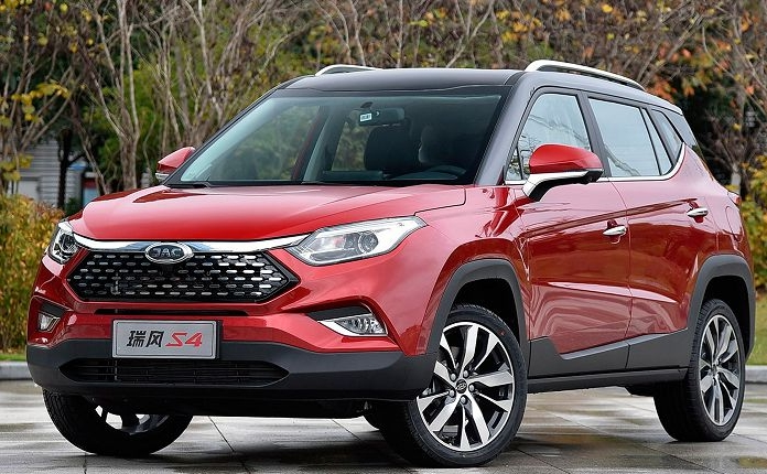 JAC unveils new S4 crossover
