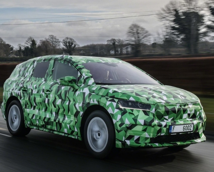 Škoda prepares for the presentation of serial EnyaqiV cars