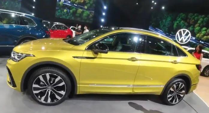 SAIC und Volkswagen präsentierten Tiguan X.