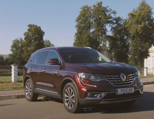 Renault presented a new product - all-wheel drive Koleos