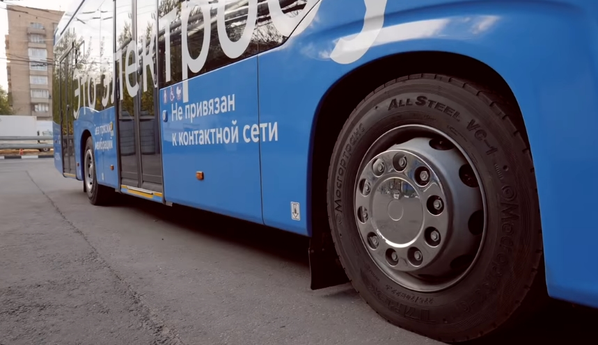 The first electric bus with night charging will appear in Russia