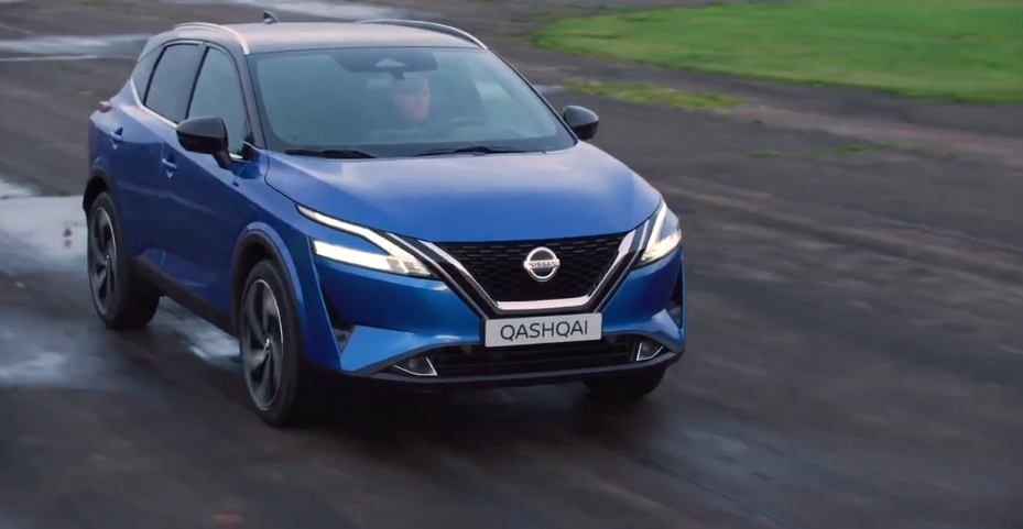 Nissan introduced an updated version of the Qashqai