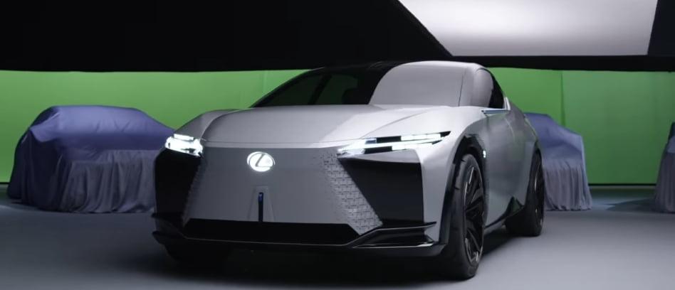 Lexus LF-Z Electrified concept all-wheel drive cross-liftback