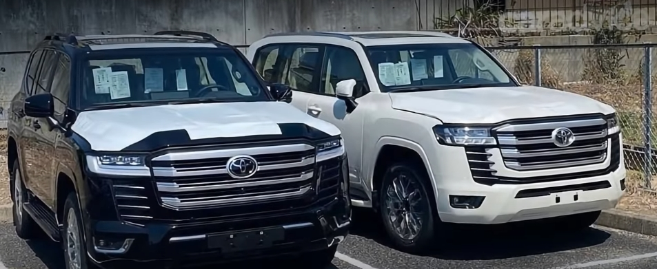 New Toyota Land Cruiser 300: specifications