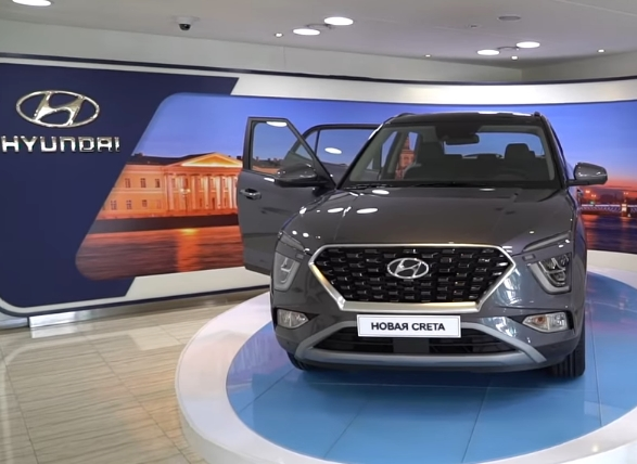 Hyundai Creta in the Russian Federation. A new generation of compact crossover