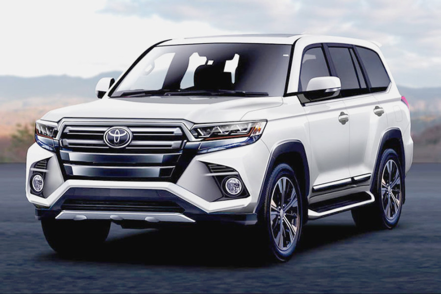 Started sales of the budget version of Toyota LC300