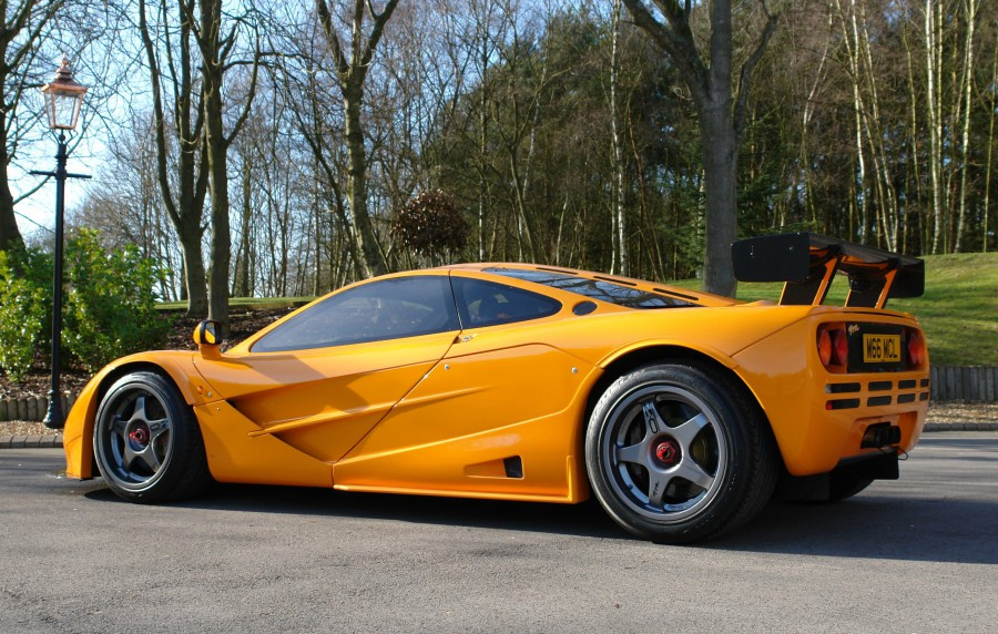 What a McLaren F1 would look like in a roadster body