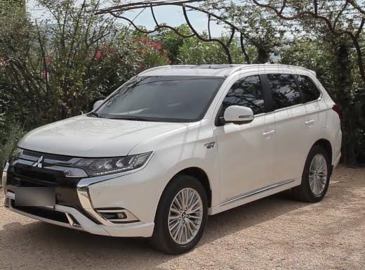 Aktualisierter Mitsubishi Outlander PHEV Hybrid: Mehr Reisen pro Ladung