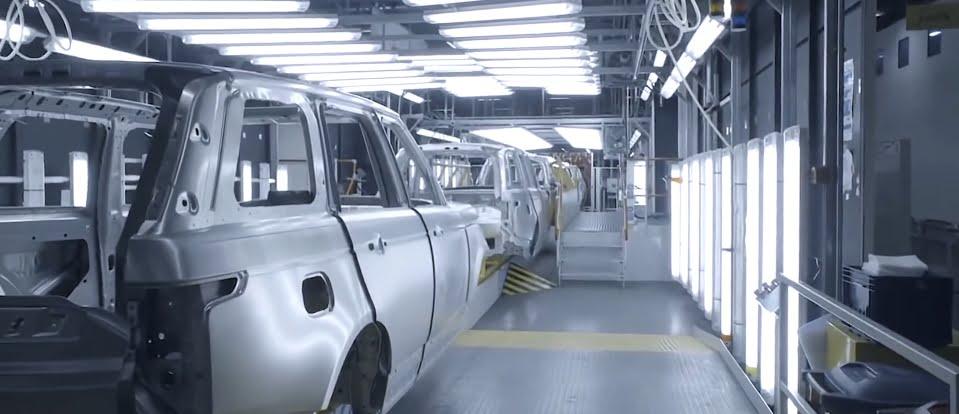 JLR tests a representative of the next generation Range Rover